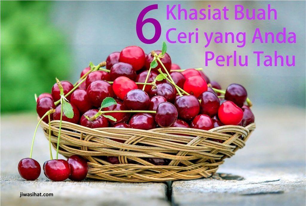 khasiat buah ceri