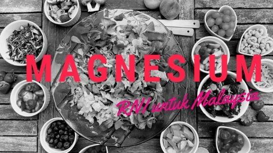 makanan yang tinggi magnesium