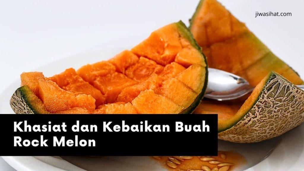 khasiat buah rock melon