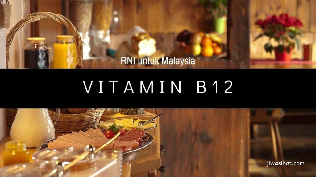 makanan yang tinggi vitamin B12