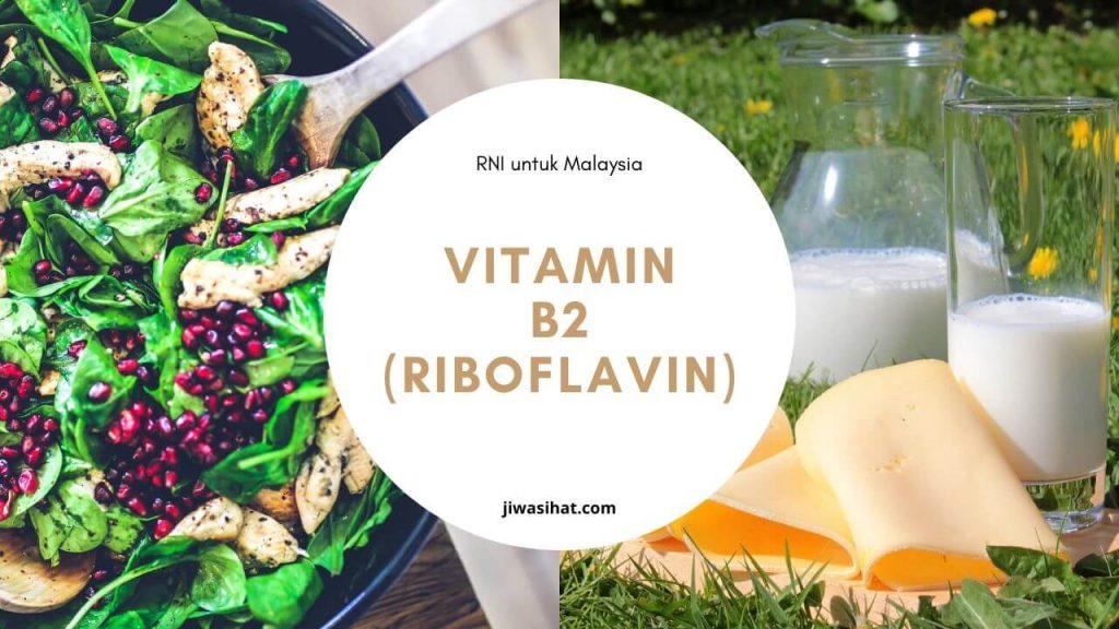 makanan yang tinggi vitamin B2