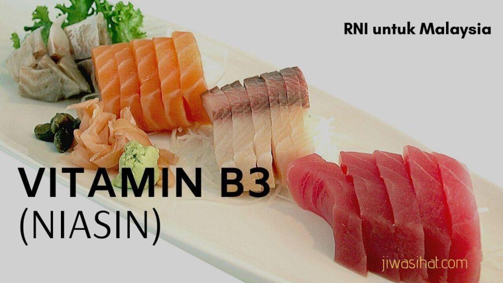 makanan yang tinggi vitamin B3