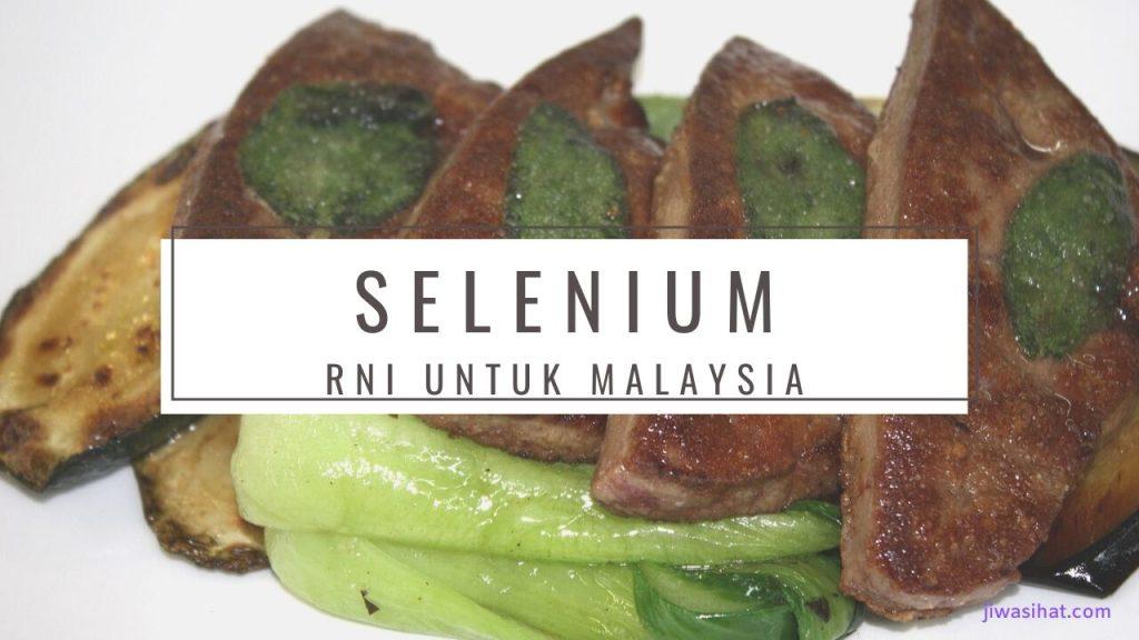 makanan yang tinggi selenium