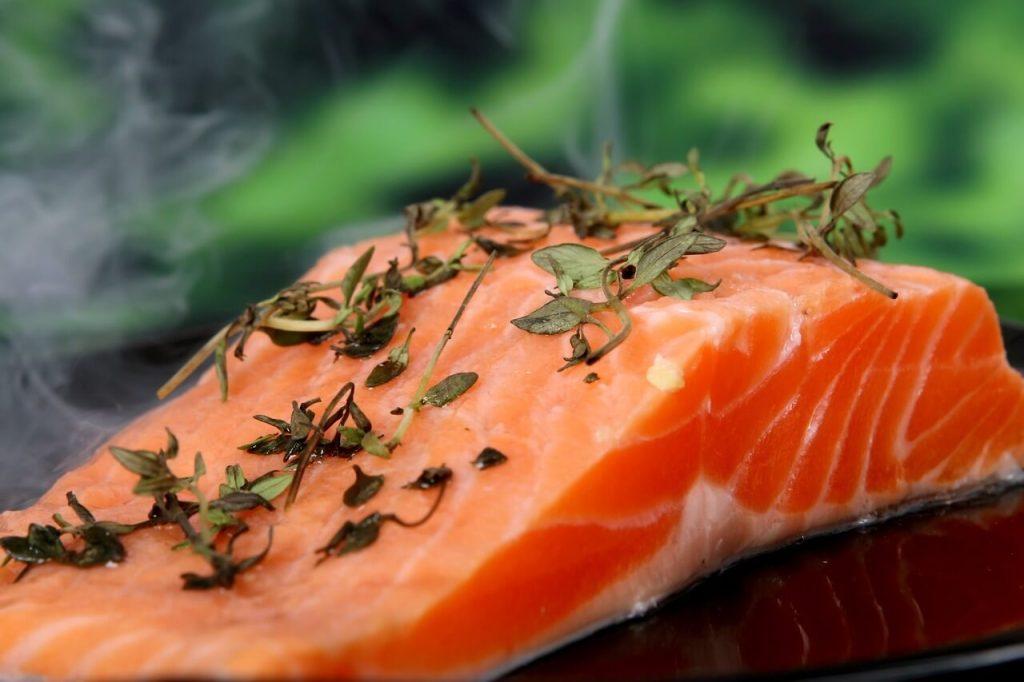 ikan salmon makanan sihat