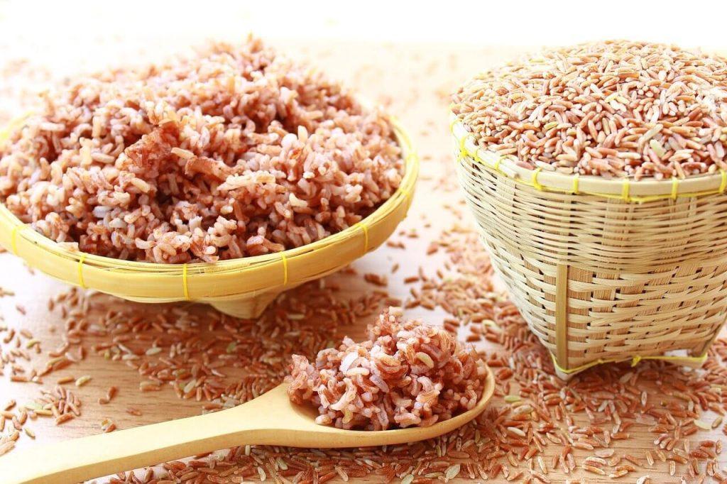 beras perang-makanan untuk pesakit gastrik