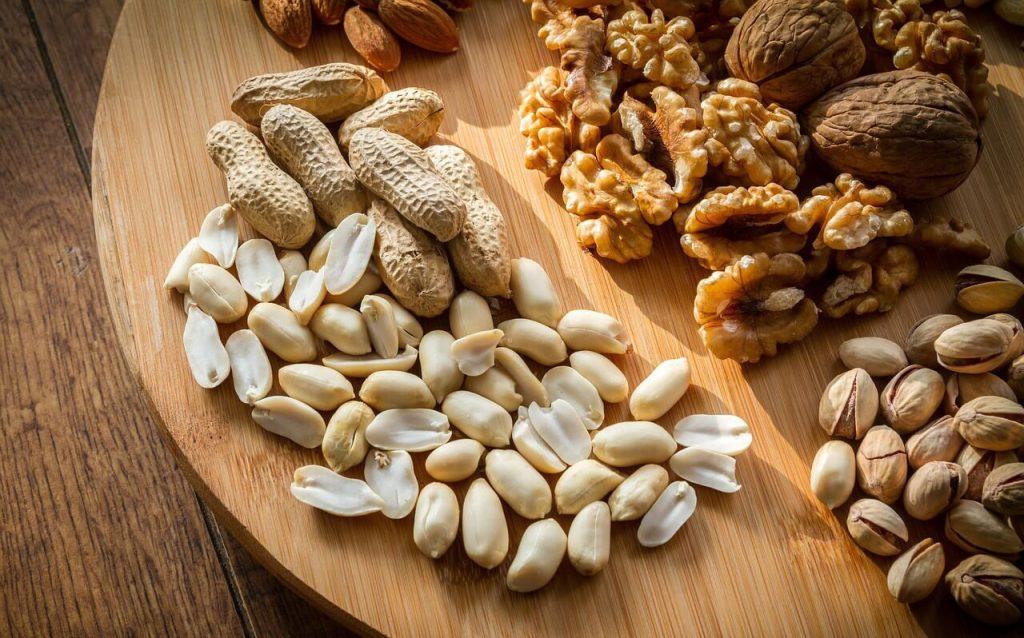kacang yang rendah dengan karbohidrat